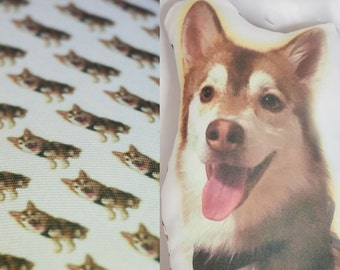 Customized Pet Pillow - Custom Pet Photo Pillow - Photo Dog Pillow - Personalized Pillow - Pet Portrait - Pet Pillow - Dog Pillow