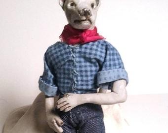 OOAK Art Doll - Good Old Boy