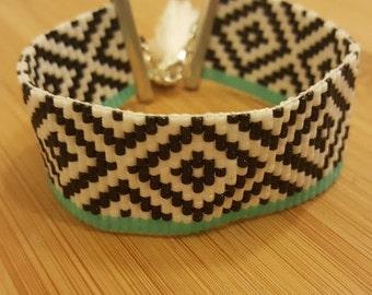 MALIBU cuff Miyuki beads