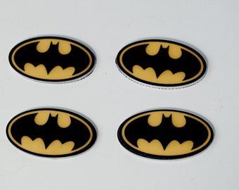 Super Hero Batman Cup Cake Toppers Planar Resin Cabochon Embellishments