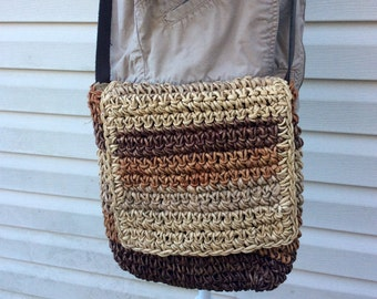 Straw, Woven Bag