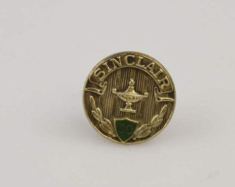 14K Yellow Gold Sinclair Oil Company 30 Year Service Appreciation Pin