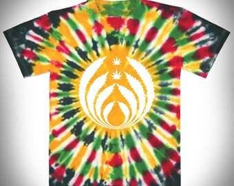 Herb Inhalator Rasta Tie Dye T-Shirt