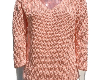 Pullover cotton 3/4  sleeves with motives max alveoli