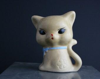 Retro Chinese cat money box