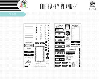 To Do Clear Planner Stamps - MAMBI Happy Planner