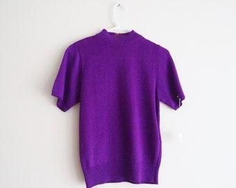 Eggplant Knit Sweater