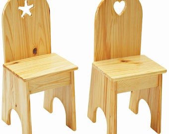 Little Colorado Solid Back Chairs