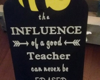 Teachers Gift Plaque
