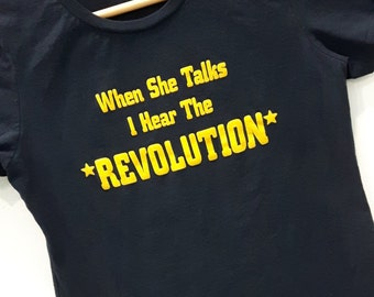 SALE!!! Revolution Feminist Shirt!!!