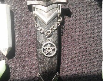 Medieval Pentagram Athame