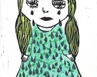 Poupée Fado EA (épreuve d'artiste) - Fado Doll (artist proof)