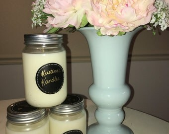 Scented Soy Candles- 8 oz