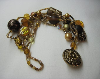 Butter Brickle Mixed Seed Bracelet