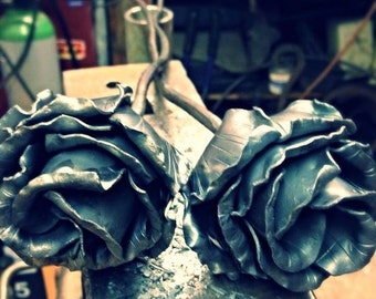 Handmade Steel Rose