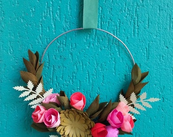 Small Paper Wreath