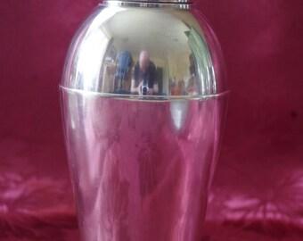 Vintage French Cocktail Shaker - Orfèvrerie St Medard - Barware - Design - Very RARE - Art Deco - France
