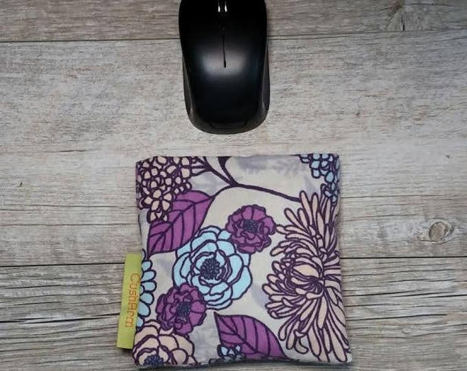 Lavender Flower computer mouse CushArm Mini, perfect for a standing desk