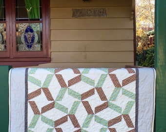 Whirlwind quilt pattern - PDF download