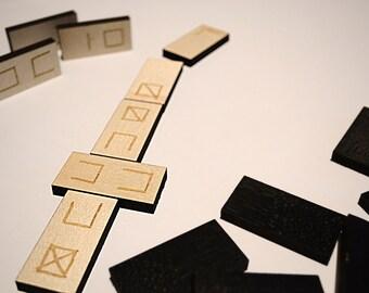 Dominoes game / Domino set