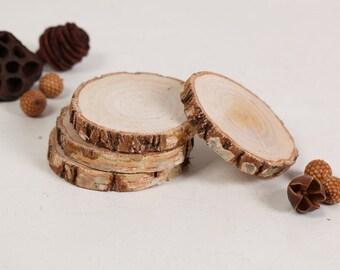 Dischi di betulla etsy for Dischi di legno