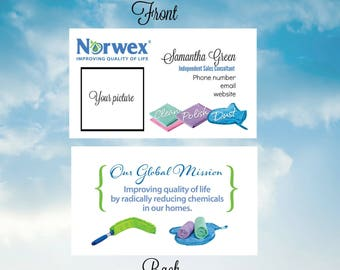 Norwex Double Sided Business Cards