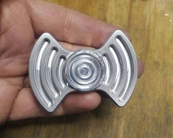 SONIC WAVE Aluminum Spinner Fidget Toy