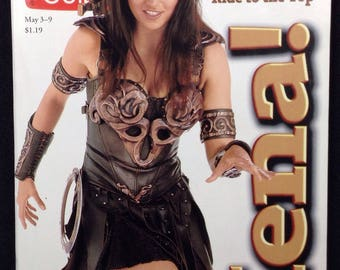 Xena Warrior Princess TV Guide Issue #2301, Xena Lucy Lawless TV GuideCover (1st ever) May 3-9 1997 Issue, Xena Warrior Princess Memorabila