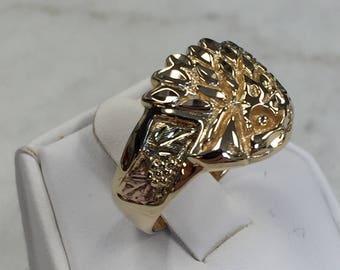 10kt Yellow Gold Fashion Ring