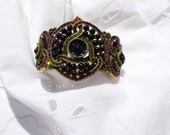 HEIDI DAUS Fabulous vintage cuff bracelet