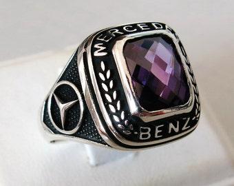 Mercedes benz etsy for Mercedes benz ring
