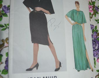 Vogue 2987 Jean Muir  Misses Dress Sewing Pattern - UNCUT - Size 10