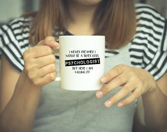 Psychologist Gifts, Psychology Gift, Psychologist, Coffee Mugs, Psychology Presents, Funny Psychology Coffee Mug, Psychology Student, Grad