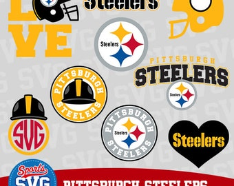 PITTSBURGH STEELERS SVG files, Silhouette files, CriCut, Vector files, Sports