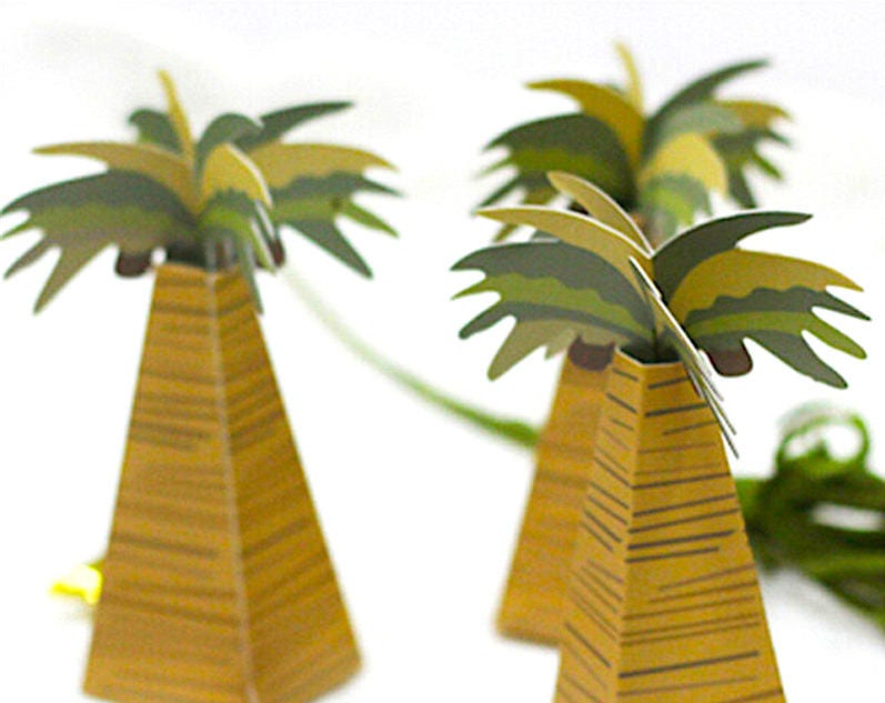 30 DIY Palm Tree Wedding Favors/Beach Wedding Favors/Tropical Gift ...