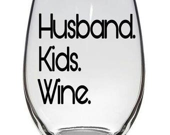 Mom Humor.Stemless.Wine Glasses Personalized. Wine Glasses. Personalized Glasses.Motherhood.Motherhood Humor