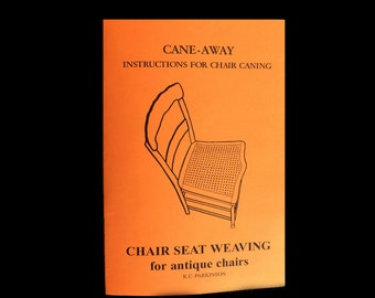 chair caning - Cane Away is how to hand cane your Chair