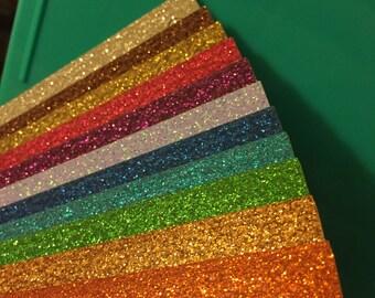 Glitter Dangle Earrings - CUSTOM