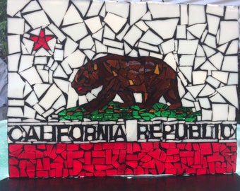 California State Flag Mosaic