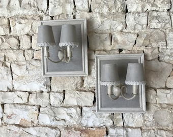 Wall sconces revisited and worn