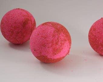 MOYENNE Bombe de Bain Magnolia / Magnolia AVERAGE Bath Bomb  / Bombe Effervescente / Boule Effervescente