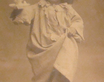 SALE Cute RPPC Of Little Girl
