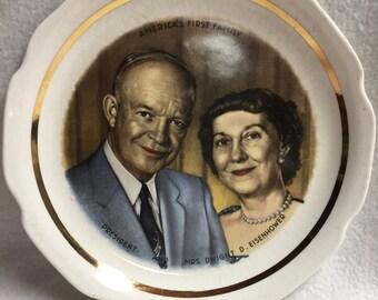 President Eisenhower Collector Plate (#003)