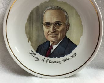 Harry S. Truman Collector Plate (#013)
