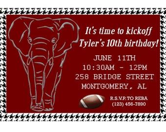 Alabama Invitation