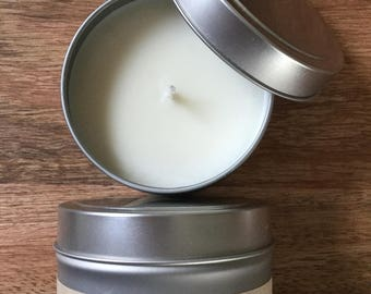 4 oz Pink Sugar Scented Soy Candle