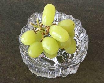 SALE Iittala Seita dish Made in Finland Tapio Wirkkala Art glass Scandinavian glass Vintage glass Collectibles