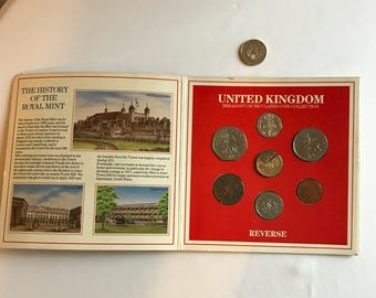 Box of United Kingdom 1986