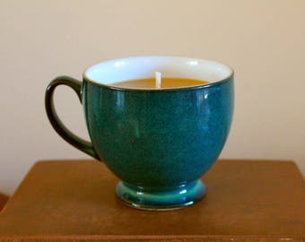 Coffee Cup Candle, Birthday Gift, Anniversary Gift, Soy Candle, Gift for her