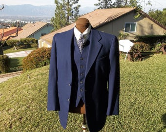 Men,s Vintage Three piece suit